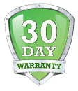 30-Day Warranty on all computer memory, computer RAM and DDR3 RAM