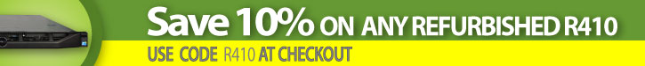Click here to save 10% off Any Dell R410 server!