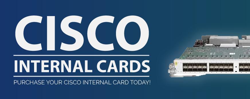 Cisco internal cards