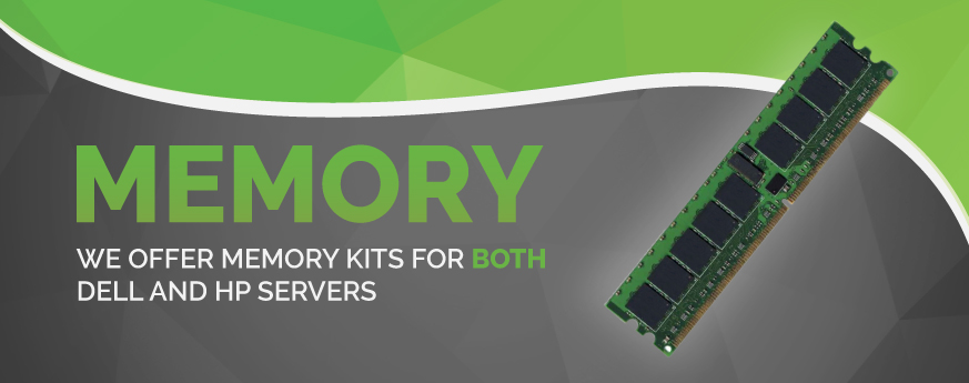Memory for Dell and HP servers