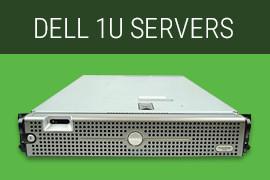 Dell 1U Servers, refurbished servers with warranty
