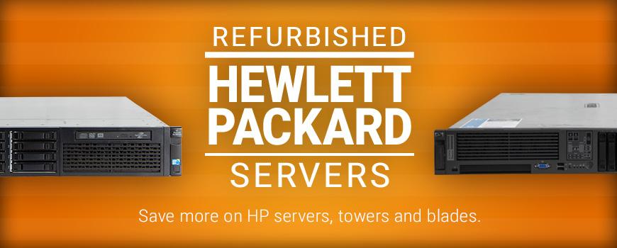 New and refurbished HP servers, HP Server, HP refurbished