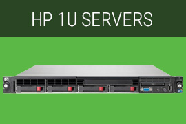 HP 1U Servers, HP Server, HP refurbished