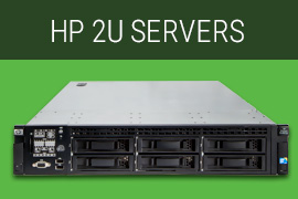 HP 2U Servers, HP Server, HP refurbished