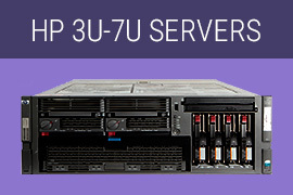 HP 3U-7U Servers, HP Server, HP refurbished