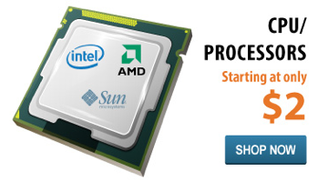 CPU / Processors starting at only $2.