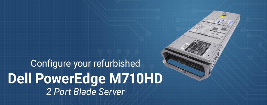 Refurbished Dell PowerEdge R710HD 2-Port