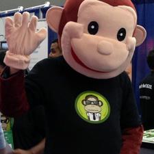 ServerMonkey t-shirt front