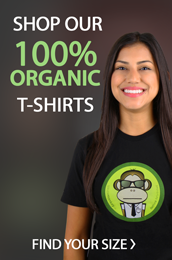 Shop our 100% organic t-shirts