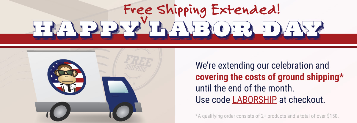 Extended Free Ground Shipping Ends 9/30!